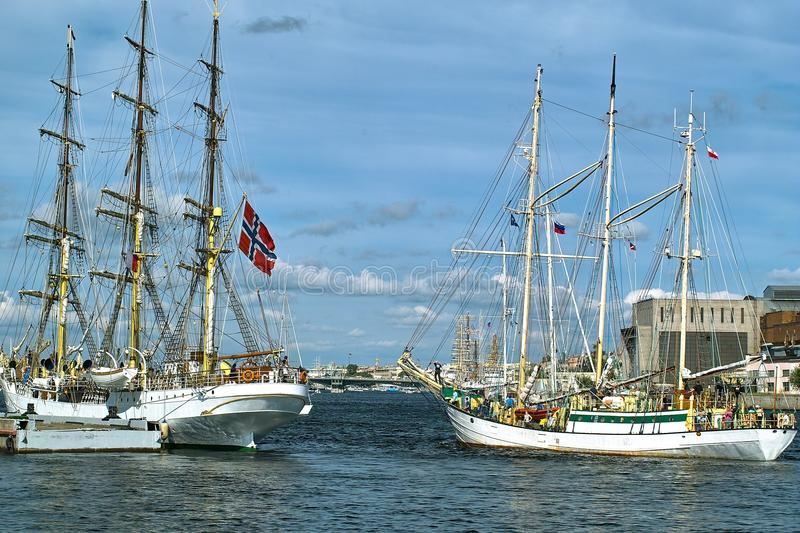 Download Tallships stock photo. Image of harbor, classic, port - 10910630