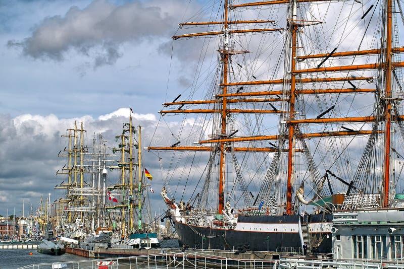Tallships fotos de stock