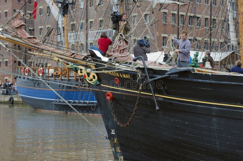 Tallships foto de stock royalty free