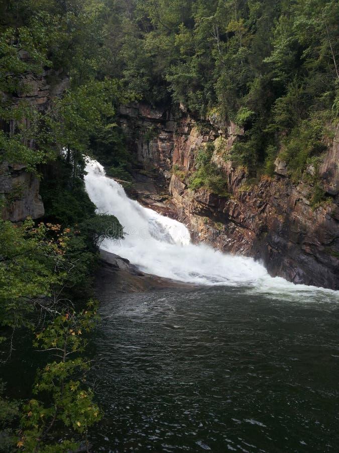 Tallulah Falls fotografia de stock