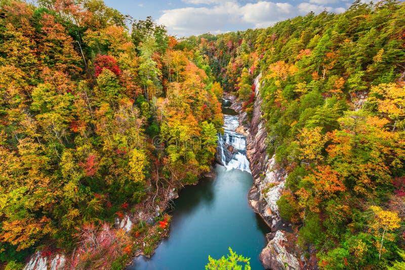 Tallulah Falls, Georgië, de V.S. royalty-vrije stock foto