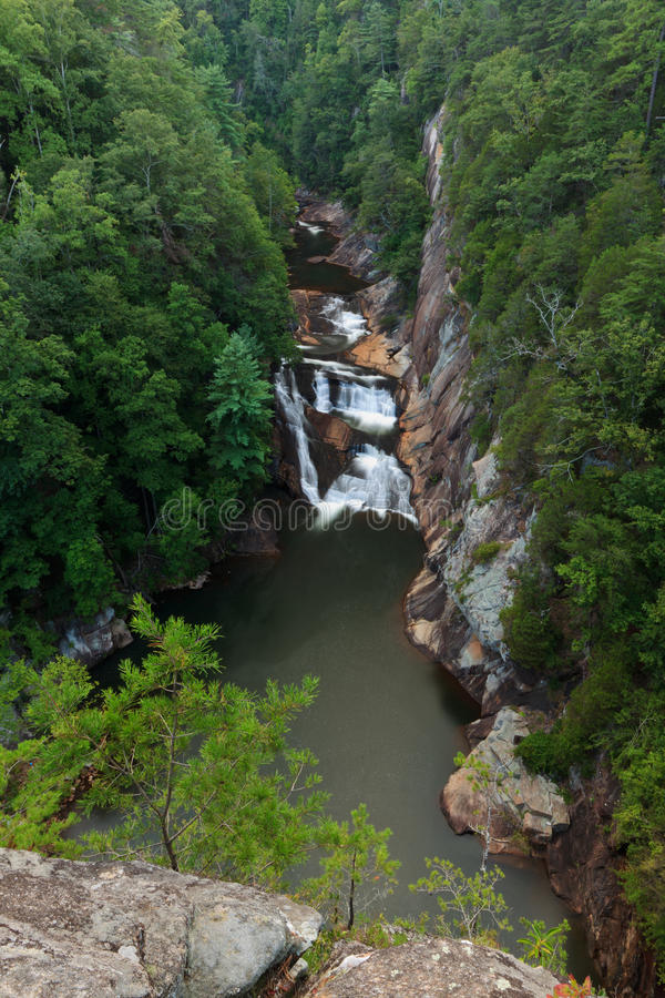 tallulah gorge стоковая фотография rf