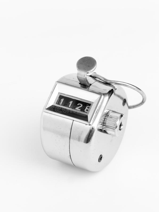 Download Tally counter stock image. Image of instrument, push - 28038703