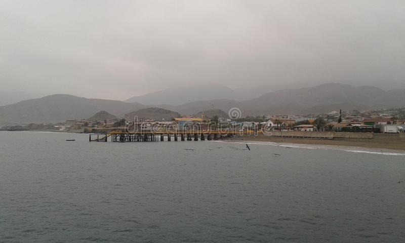 Taltal coast royalty free stock photography