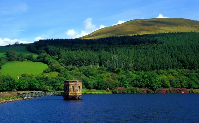 Talybont Reservoir stock photography