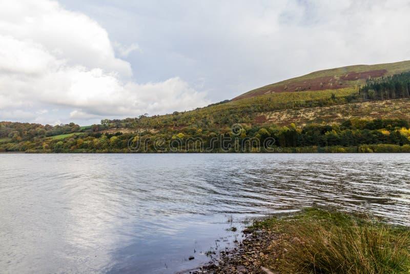 Talybontreservoir, Wales royalty-vrije stock foto's