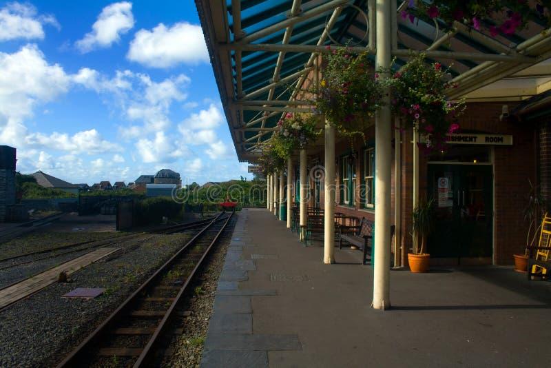 Talyllyn-Dampf-Eisenbahn stockfotos