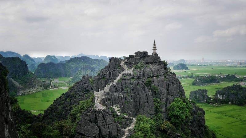 Tam Coc Temple image libre de droits