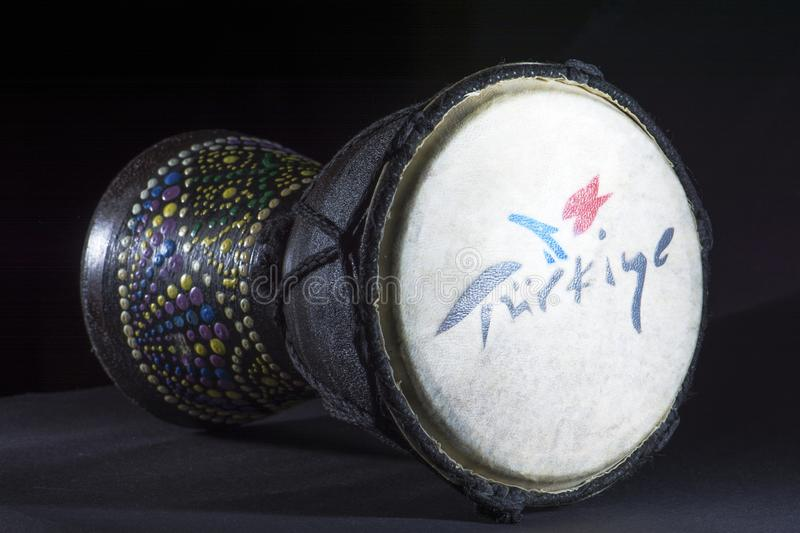 Tam tam drum royalty free stock photo