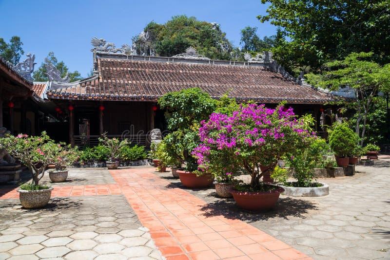 Tam Tom Pagoda in Marble Mountains, Vietnam stock photo