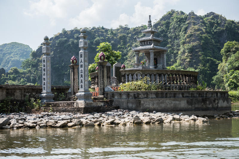 Tama Coc świątynia zdjęcia stock