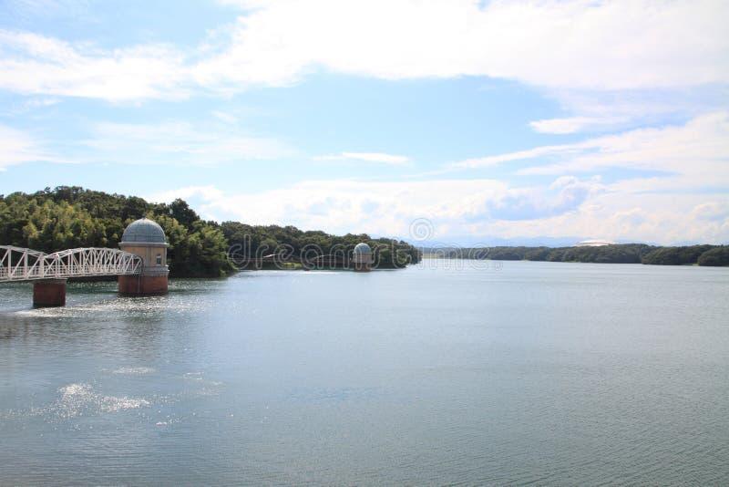 Tama sjö royaltyfri bild