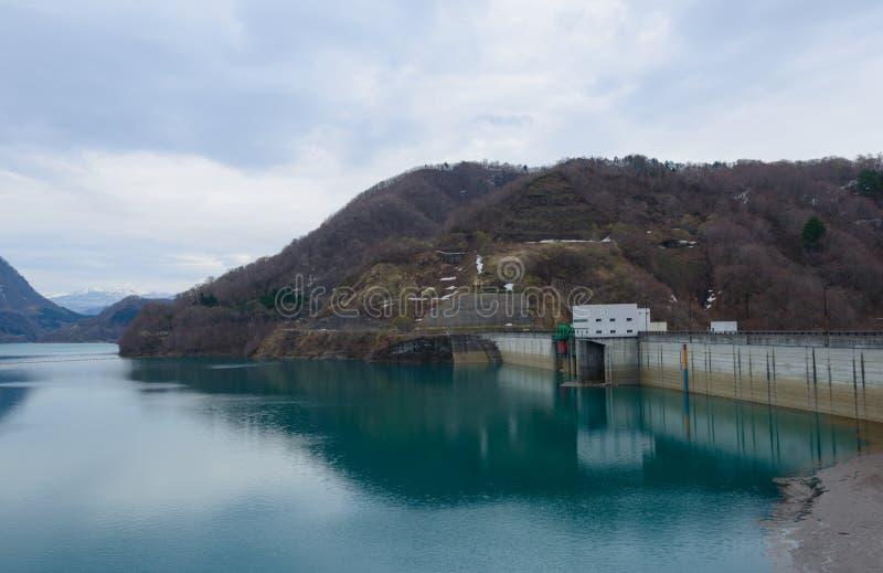 Tamagawa-Verdammung (See Hosen) stockfoto