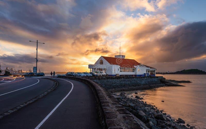 Tamaki jachtu klub Auckland obrazy royalty free