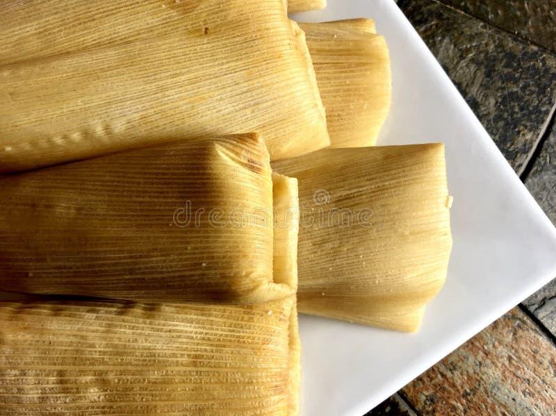 tamales obraz stock