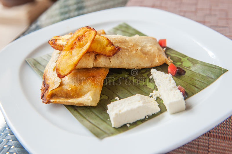 Tamales, prato mesoamerican tradicional imagens de stock royalty free