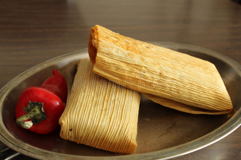 Tamales royalty free stock image