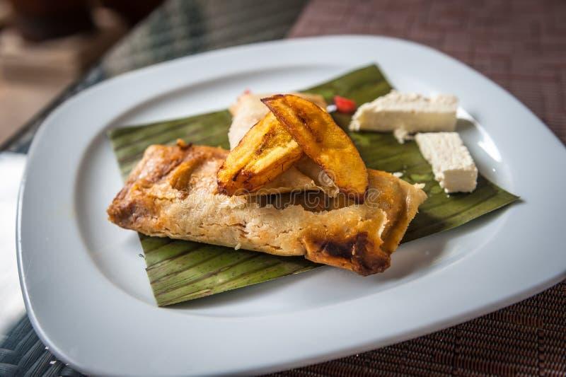 Tamales, traditionele Mexicaanse schotel royalty-vrije stock fotografie