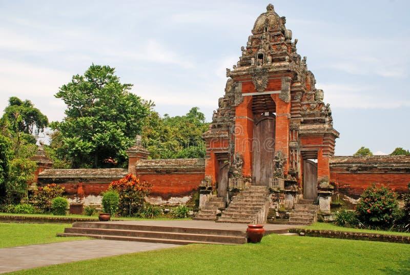 Taman Ayun Tempel (Bali, Indonesien) stockfoto