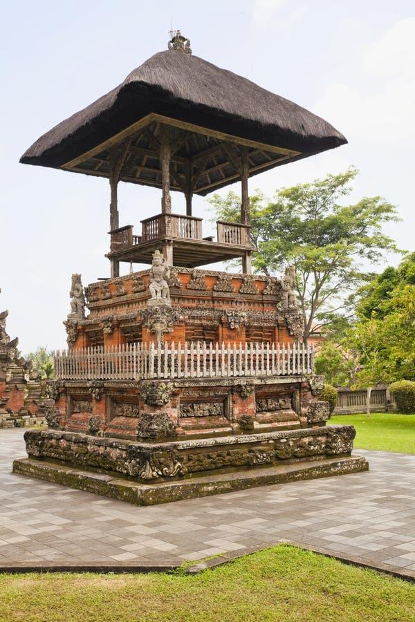 taman ayunbali indonesia pura royaltyfria foton