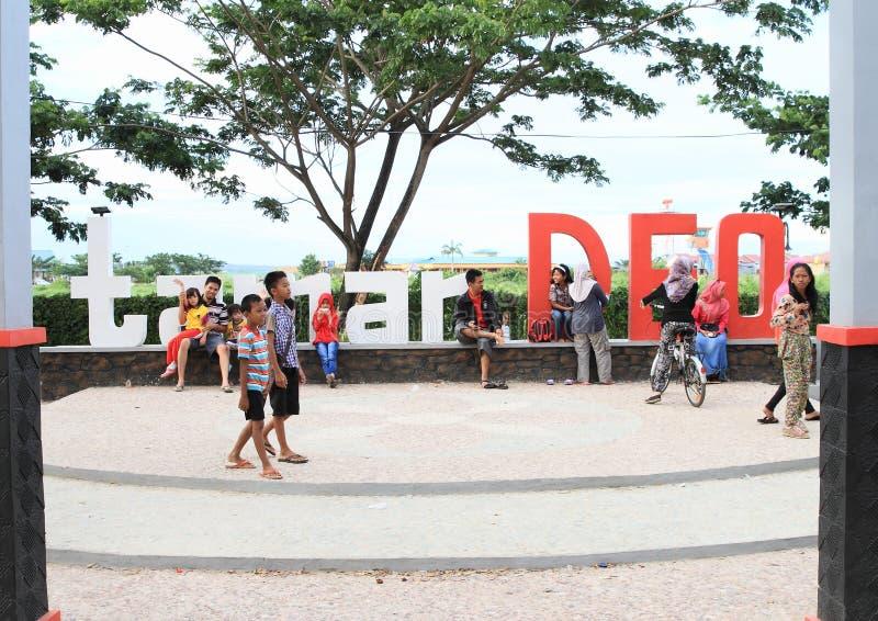 Taman DEO σε Sorong στοκ φωτογραφία με δικαίωμα ελεύθερης χρήσης