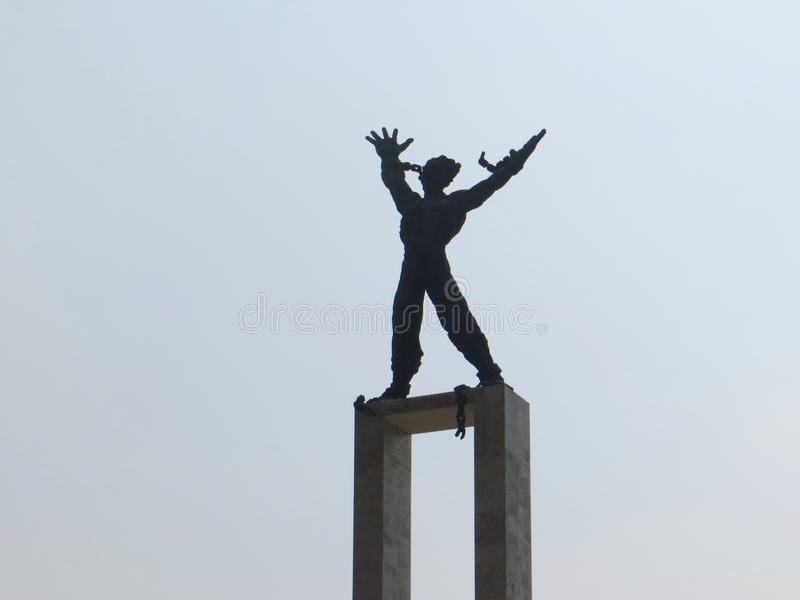 Taman Lapangan Banteng, Jakarta imagen de archivo