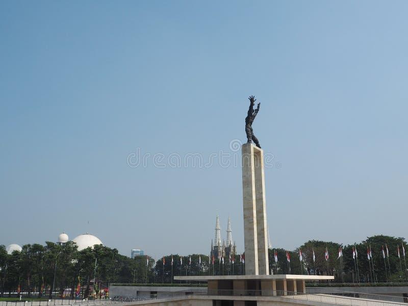 Taman Lapangan Banteng, Jakarta image stock