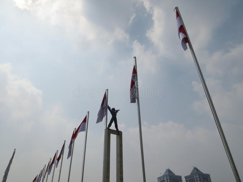 Taman Lapangan Banteng, Jakarta foto de archivo libre de regalías