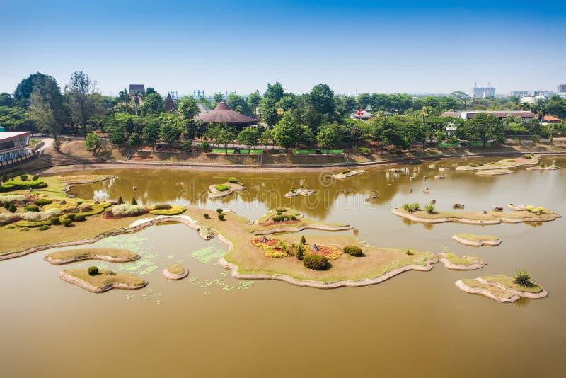 Taman Mini Indonesia imagen de archivo