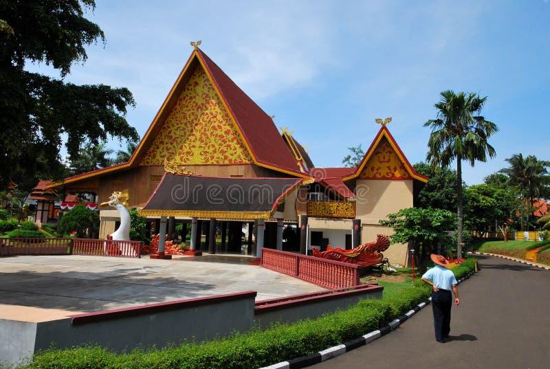 Taman mini Indonesia Indah imagen de archivo libre de regalías