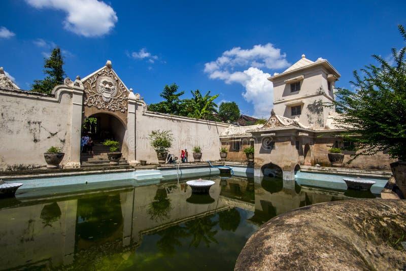 Taman-Sari, Jogjakarta, Indonesien stockbild