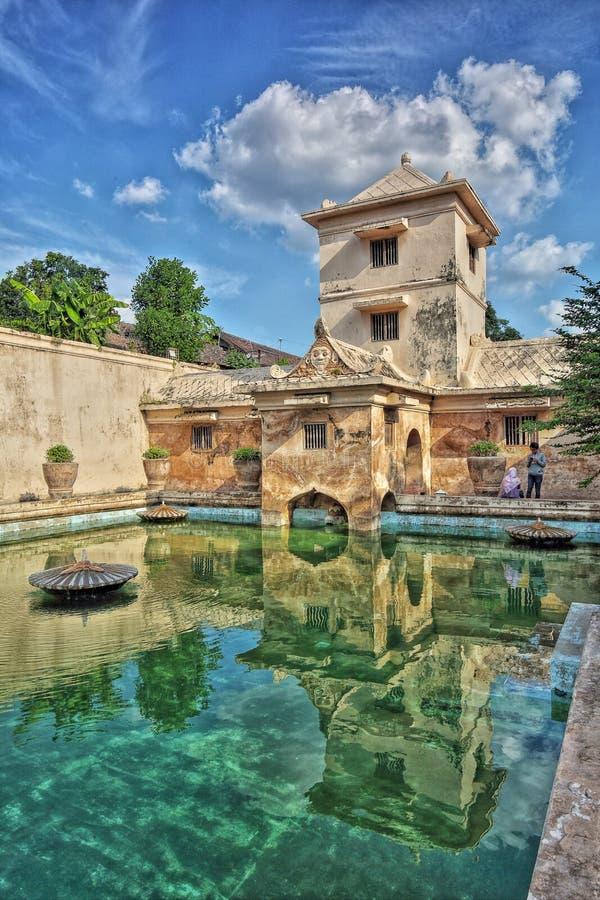 Taman Sari Water Castle Jogjakarta imagenes de archivo