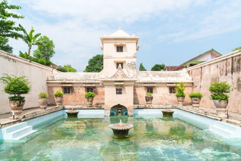 Taman Sari water palace of Yogyakarta on Java island royalty free stock photo