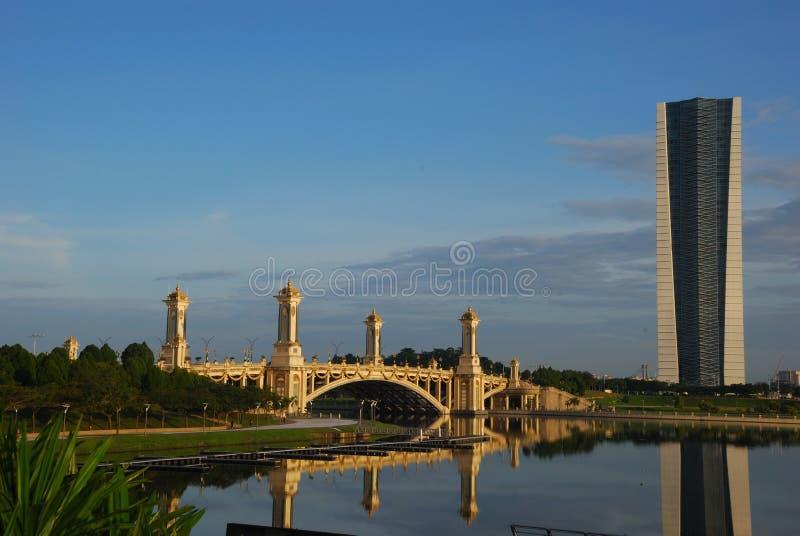 Taman Seri Empangan, Putrajaya, Maleisië royalty-vrije stock afbeeldingen