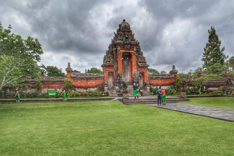 taman tempel för ayun royaltyfria bilder
