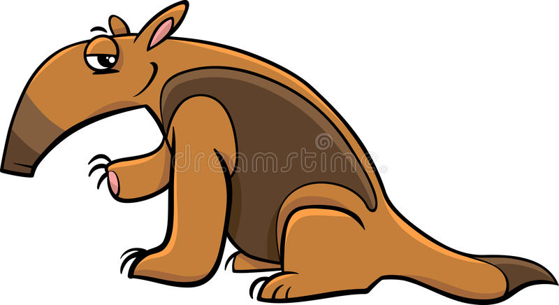 tamandua anteater cartoon stock vector illustration of fairy 64339078 rh dreamstime com  free anteater clipart