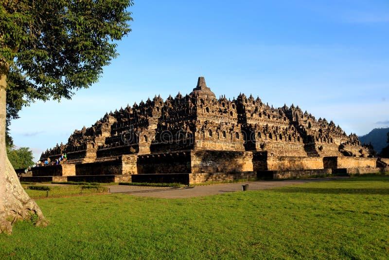 Tamanho real de Borobudur foto de stock