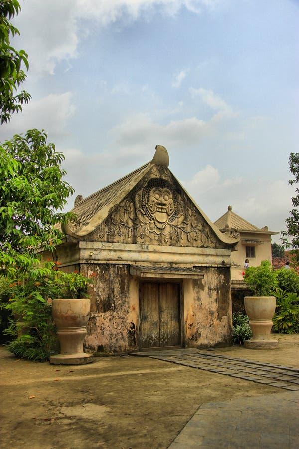 Tamansari Tylny wejście zdjęcie royalty free