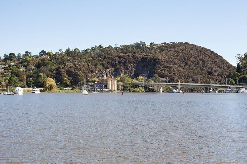 Tamar River Launceston lizenzfreie stockbilder