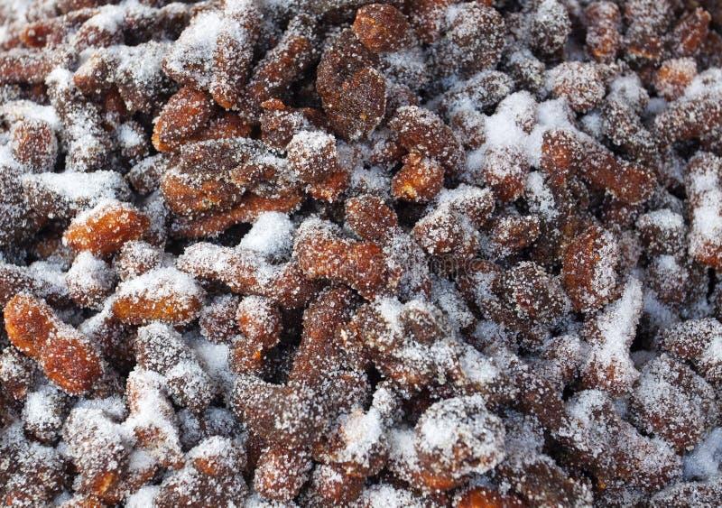 Tamarind που αναμιγνύεται με την κοκκοποιημένη ζάχαρη στοκ φωτογραφίες με δικαίωμα ελεύθερης χρήσης