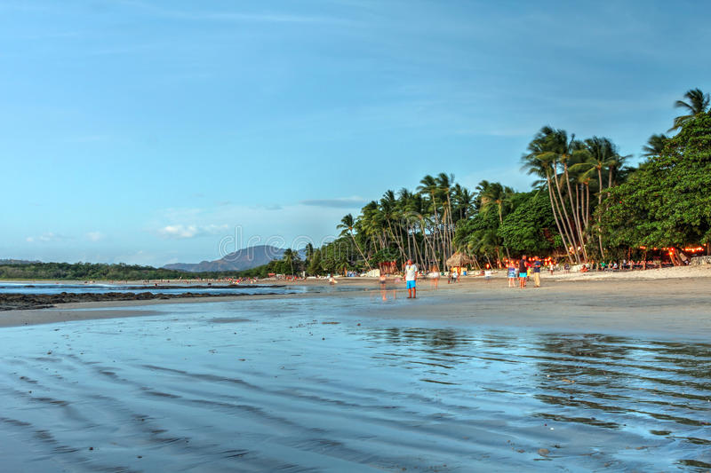 Tamarindo beach, Costa Rica royalty free stock photos