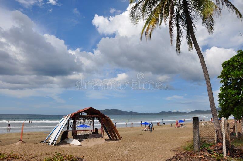 Tamarindo plaża, Nicoya półwysep, Costa Rica obraz stock