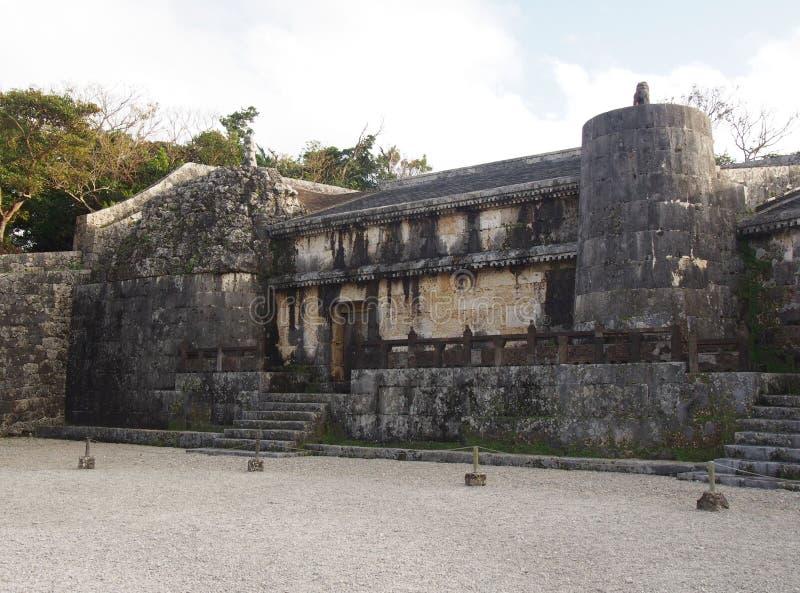 Tamaudun陵墓在冲绳岛日本 库存图片