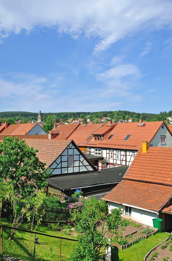Tambach-Dietharz, Thueringen, Thuringia, Alemanha fotos de stock