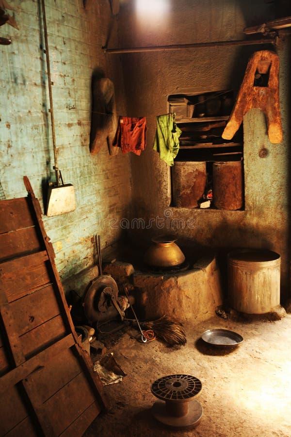Tambat Ali, mercado de cobre Kasba Peth, Pune, Índia fotografia de stock