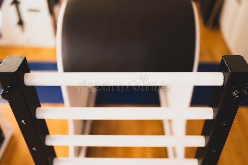 Tambor da escada do equipamento de Pilates foto de stock royalty free