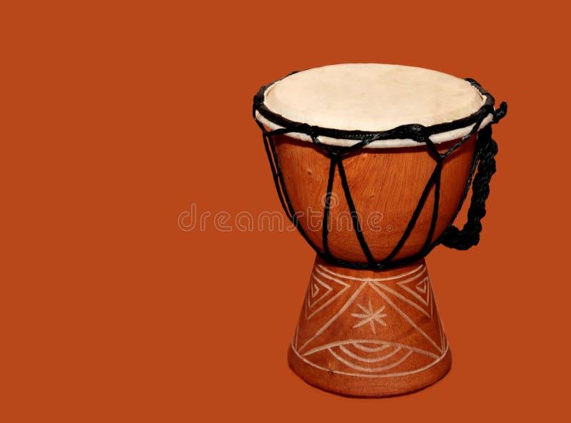 Tambor de Djembe imagenes de archivo