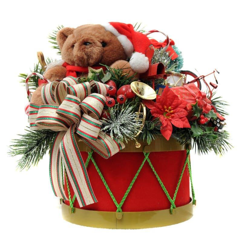 Tambor de la Navidad fotografía de archivo libre de regalías