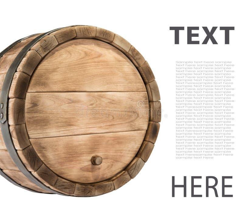 Tambor de madeira imagem de stock royalty free