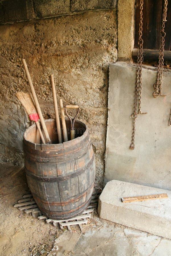 Tambor de madeira imagem de stock